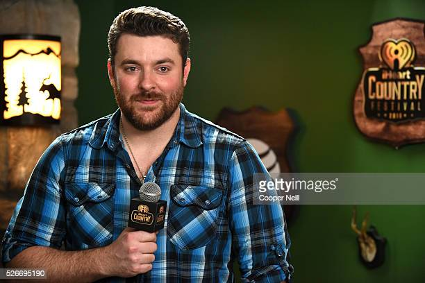 Singer Chris Young attends the 2016 iHeartCountry Festival at The Frank Erwin Center on April 30 2016 in Austin Texas