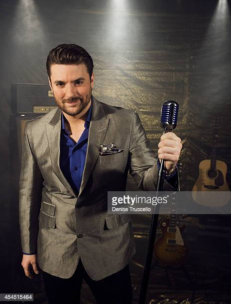 Singer Chris Young poses for a portrait at the Academy of Country Music Awards for People Magazine on April 6 2014 in Las Vegas Nevada