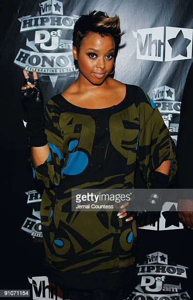Singer Chrisette Michele attends the 2009 VH1 Hip Hop Honors at the Brooklyn Academy of Music on September 23 2009 in the Brooklyn borough of New...