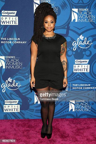 Singer Chrisette Michele attends the Essence 6th annual Black Women in Music Event held at Avalon on February 5 2015 in Hollywood California