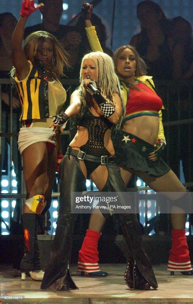 MTV - Christina Aguilera : News Photo