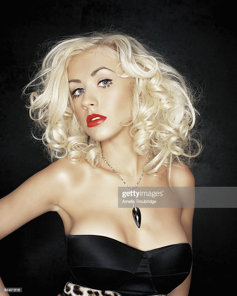 Christina Aguilera - singer by Amelia Troubridge for Self Assignment