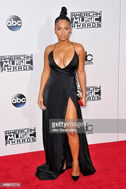 Singer Christina Milian arrives at the 2015 American Music Awards at Microsoft Theater on November 22 2015 in Los Angeles California