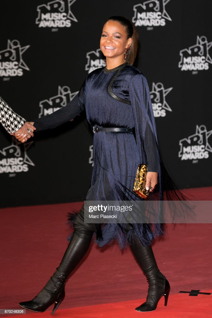 Singer Christina Milian attends the 19th 'NRJ Music Awards' ceremony on November 4, 2017 in Cannes, France.