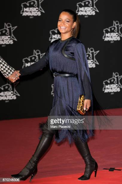 Singer Christina Milian attends the 19th 'NRJ Music Awards' ceremony on November 4 2017 in Cannes France