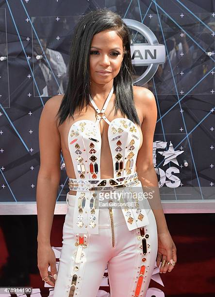 Singer Christina Milian attends the 2015 BET Awards at the Microsoft Theater on June 28 2015 in Los Angeles California