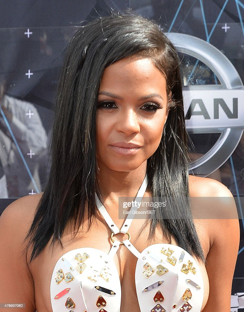 Singer Christina Milian attends the 2015 BET Awards at the Microsoft Theater on June 28, 2015 in Los Angeles, California.