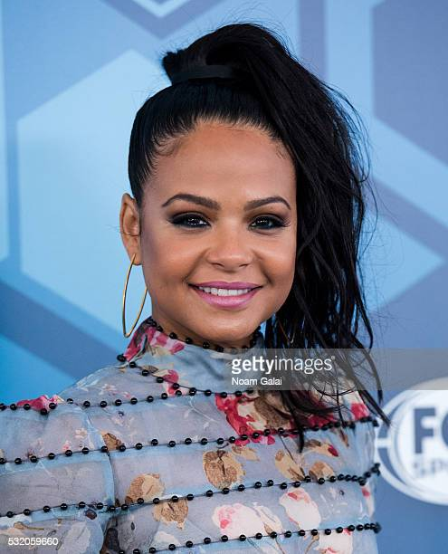 Singer Christina Milian attends the 2016 Fox Upfront at Wollman Rink Central Park on May 16 2016 in New York City