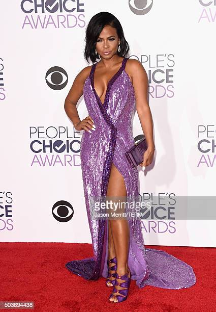 Singer Christina Milian attends the People's Choice Awards 2016 at Microsoft Theater on January 6 2016 in Los Angeles California