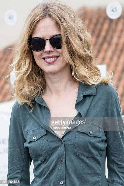 Singer Christina Rosenvinge attends the '43Live Roof' photocall at Gymage Lounge Resorton May 25 2016 in Madrid Spain