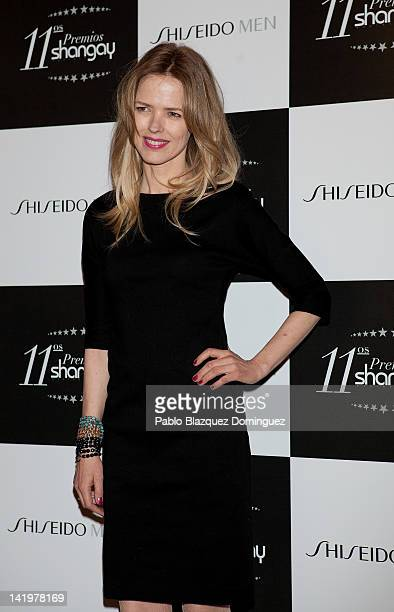 Singer Christina Rosenvinge attends the Shangay Awards 2012 at Calderon Theater on March 27 2012 in Madrid Spain