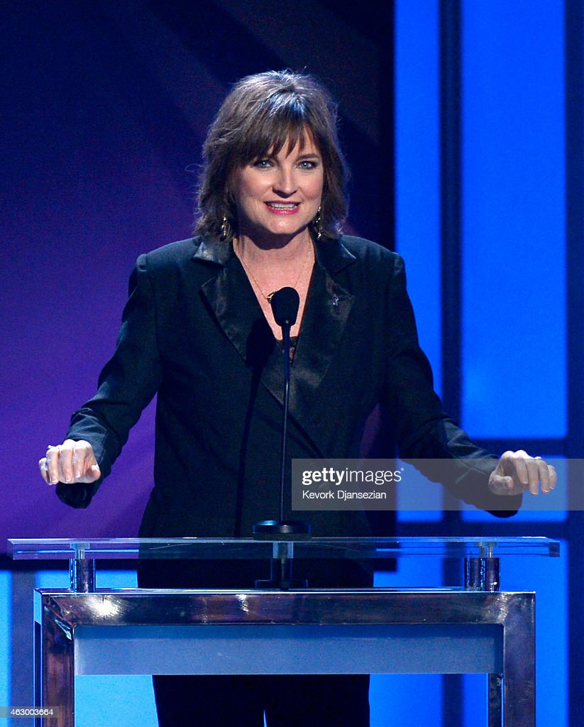 Singer Christine Albert onstage during the The 57th Annual GRAMMY Awards Premiere Ceremony at Nokia Theatre L.A. Live on February 8, 2015 in Los Angeles, California.