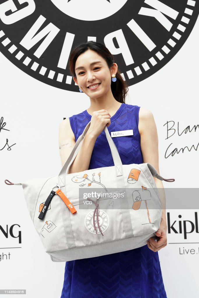 HKG: Christine Fan Attends Kipling Blank Canvas Event In Hong Kong