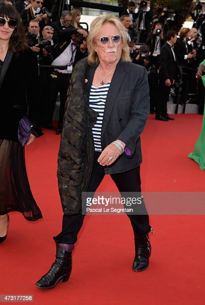 Singer Christophe attends the opening ceremony and premiere of 'La Tete Haute' during the 68th annual Cannes Film Festival on May 13 2015 in Cannes...