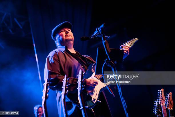 Singer Christopher Cross performs live on stage during a concert at Huxleys Neue Welt on July 8 2017 in Berlin Germany