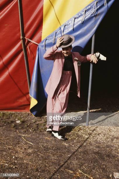 Singer Christos Tolera of Blue Rondo à la Turk London 1981
