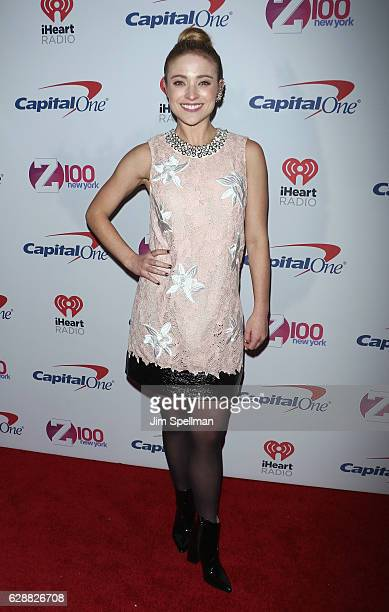 Singer Christy Altomare attends Z100's Jingle Ball 2016 at Madison Square Garden on December 9 2016 in New York City