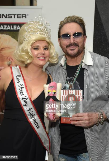 Singer Chuck Negron attends the unveiling party for his new candy line at Sweet! Hollywood Boutique on July 7, 2018 in Hollywood, California.