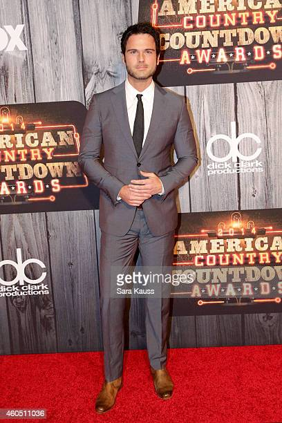 Singer Chuck Wicks attends the 2014 American Country Countdown Awards at Music City Center on December 15 2014 in Nashville Tennessee