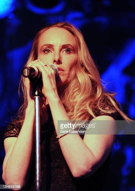 Singer Chynna Phillips of Wilson Phillips performs at Skagit Valley Casino on December 2 2011 in Bow Washington