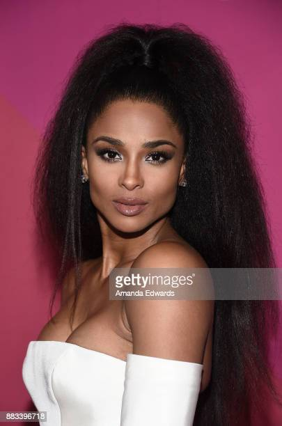 Singer Ciara arrives at Billboard Women In Music 2017 at The Ray Dolby Ballroom at Hollywood Highland Center on November 30 2017 in Hollywood...