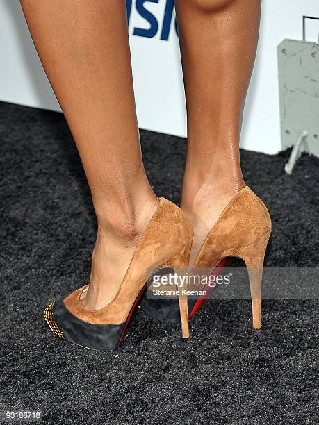 Singer Ciara arrives at Leona Lewis' Album Celebration Sponsored by ASICS at Hyde Lounge on November 17 2009 in Los Angeles California
