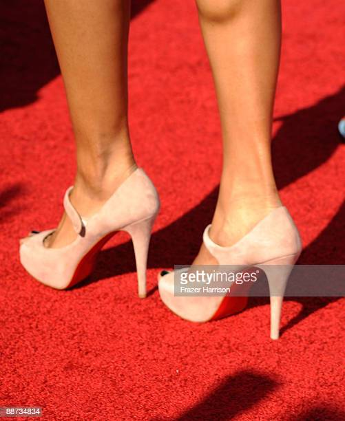 Singer Ciara arrives at the 2009 BET Awards held at the Shrine Auditorium on June 28 2009 in Los Angeles California
