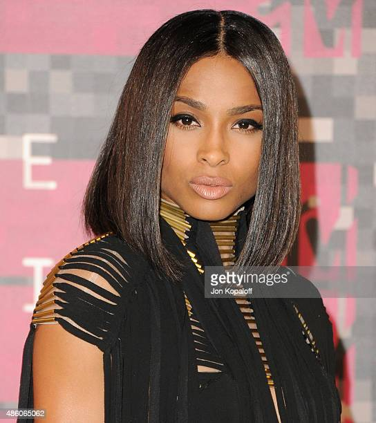 Singer Ciara arrives at the 2015 MTV Video Music Awards at Microsoft Theater on August 30, 2015 in Los Angeles, California.