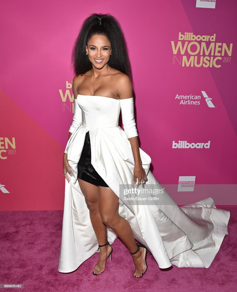 Singer Ciara arrives at the Billboard Women In Music 2017 at The Ray Dolby Ballroom at Hollywood & Highland Center on November 30, 2017 in Hollywood, California.