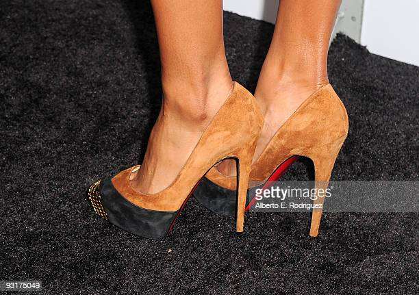 Singer Ciara arrives at the Leona Lewis 'Echo' album completion party held at the Hyde Lounge on November 17 2009 in Los Angeles California