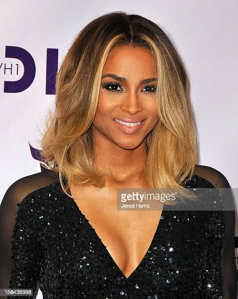 Singer Ciara arrives at 'VH1 Divas' 2012 held at The Shrine Auditorium on December 16 2012 in Los Angeles California
