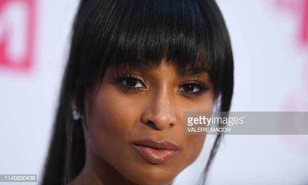 US singer Ciara arrives for VH1s Annual Mothers Day Celebration Dear Mama A Love Letter to Mom at The Theatre at Ace hotel in Los Angeles on May 2...