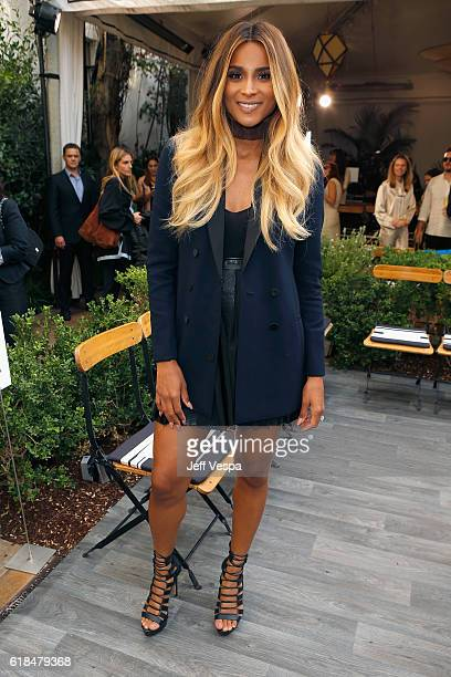 Singer Ciara at the CFDA/Vogue Fashion Fund Show and Tea presented by kate spade new york at Chateau Marmont on October 26 2016 in Los Angeles...