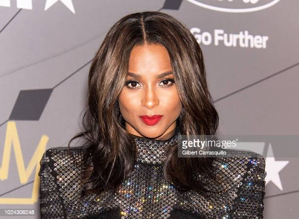Singer Ciara attends 2018 Black Girls Rock at New Jersey Performing Arts Center on August 26 2018 in Newark New Jersey