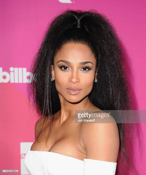 Singer Ciara attends Billboard Women In Music 2017 at The Ray Dolby Ballroom at Hollywood Highland Center on November 30 2017 in Hollywood California