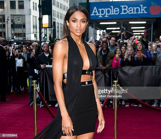 Singer Ciara attends Billboard's 10th Annual Women In Music at Cipriani 42nd Street on December 11, 2015 in New York City.