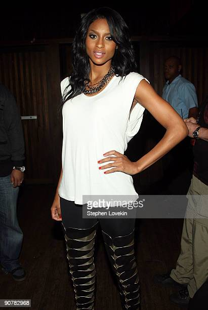 Singer Ciara attends Lady Gaga and the launch of V61 hosted by V Magazine Marc Jacobs and Belvedere Vodka on September 14 2009 in New York City