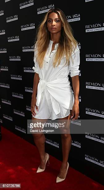Singer Ciara attends Revlon's Annual Philanthropic Luncheon at Chateau Marmont on September 27 2016 in Los Angeles California