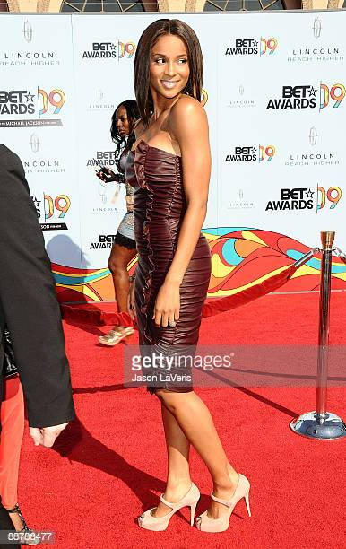 Singer Ciara attends the 2009 BET Awards at The Shrine Auditorium on June 28 2009 in Los Angeles California