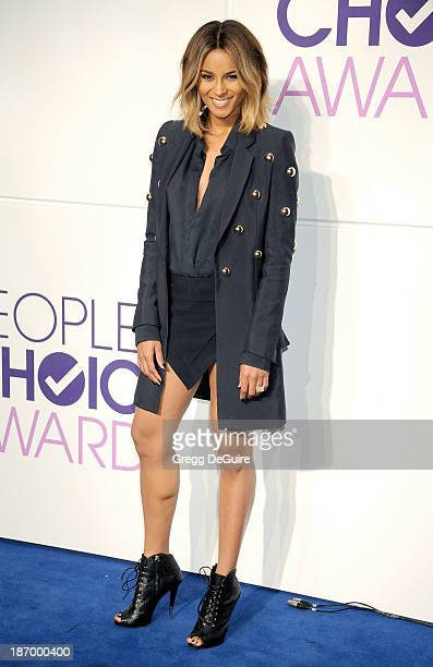 Singer Ciara attends the 2014 People's Choice Awards Nominations announcement at The Paley Center for Media on November 5 2013 in Beverly Hills...