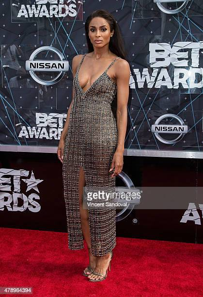 Singer Ciara attends the 2015 BET Awards on June 28 2015 in Los Angeles California
