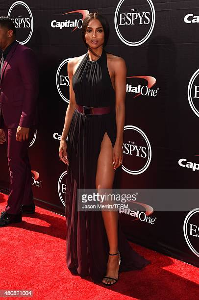 Singer Ciara attends The 2015 ESPYS at Microsoft Theater on July 15 2015 in Los Angeles California