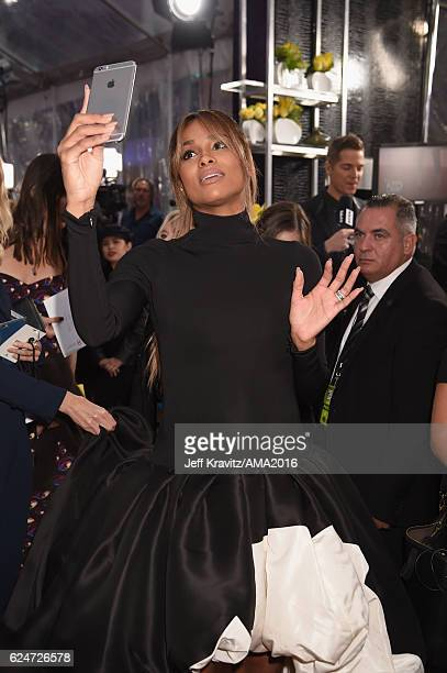 Singer Ciara attends the 2016 American Music Awards at Microsoft Theater on November 20, 2016 in Los Angeles, California.