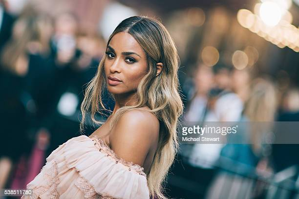 Singer Ciara attends the 2016 CFDA Fashion Awards at the Hammerstein Ballroom on June 6 2016 in New York City