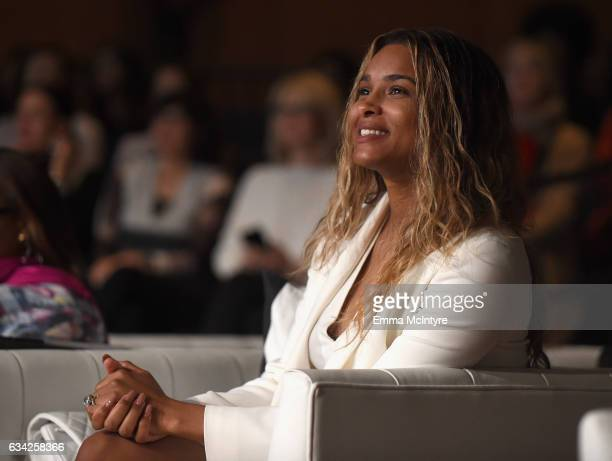 Singer Ciara attends The 2017 MAKERS Conference Day 3 at Terranea Resort on February 8 2017 in Rancho Palos Verdes California