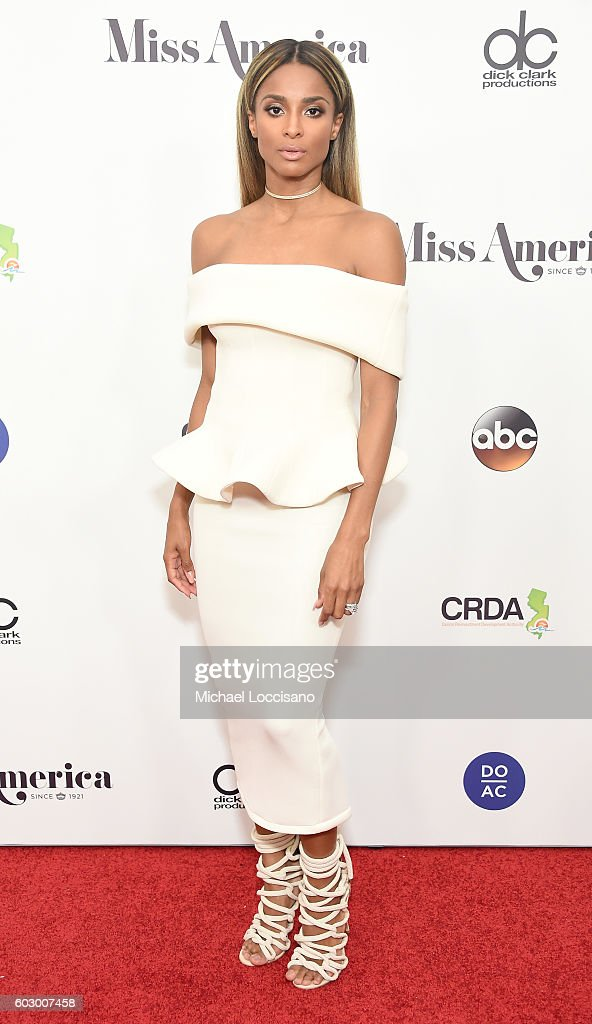 Singer Ciara attends the 2017 Miss America Competition - Red Carpet at Boardwalk Hall Arena on September 11, 2016 in Atlantic City, New Jersey.