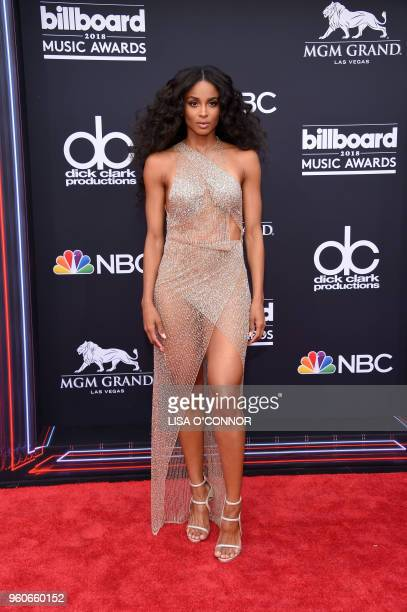 Singer Ciara attends the 2018 Billboard Music Awards 2018 at the MGM Grand Resort International on May 20 in Las Vegas Nevada