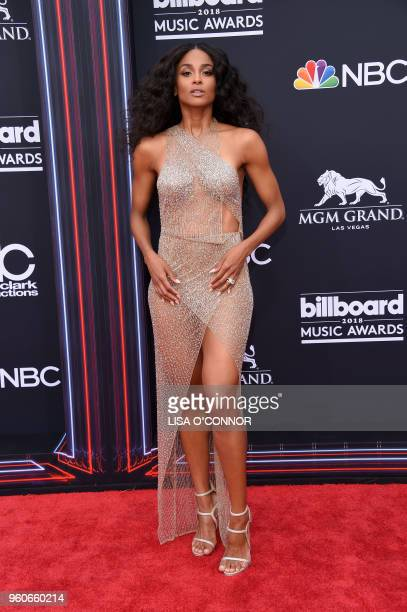 Singer Ciara attends the 2018 Billboard Music Awards 2018 at the MGM Grand Resort International on May 20 in Las Vegas Nevada
