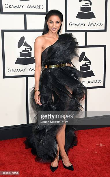 Singer Ciara attends The 57th Annual GRAMMY Awards at the STAPLES Center on February 8 2015 in Los Angeles California