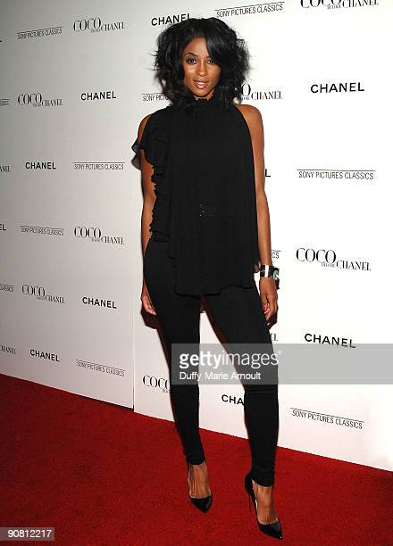 Singer Ciara attends the 'Coco Before Chanel' New York Premiere at the Paris Theatre on September 15 2009 in New York City